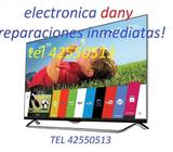 PLASMA TELEVISORES,REPARAMOS,LCD,LED,SMART TV,4K.REPUESTOS Y PARTES