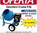 OFERTA DE CONCRETERA – REVOLVEDORA – MEZCLADORA