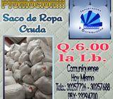 Oferta: Ropa Cruda en Saco.