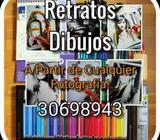 Retratos Dibujos Profesionales Guatemala