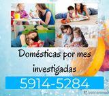 El personal que necesitas para tu hogar está aquí investigado.