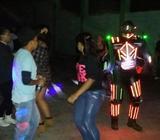 Show de Robot Led Y Discoteca