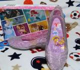 Zapatos para niña, zapatias tipo princesa Cenicienta 9.5 de 10 originales talla 12 EE.UU. o 29 y 30