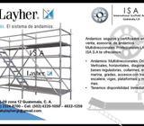 Andamios Layher Certificados