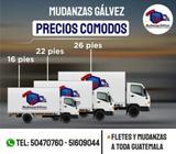 Fletes Y Mudanzas a Toda Guatemala