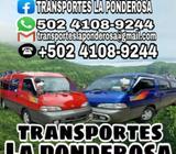 Viaja con Nosotros Transporte Seguro