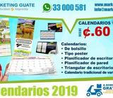 Calendarios 2020 desde 60 Centavos para su negocio