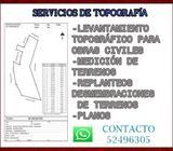 SERVICIOS DE TOPOGRAFÍA