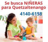 Contratamos niñeras en Quetzaltenango
