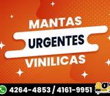 URGENTES MANTAS VINILICAS