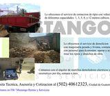 Demolicion, Extraccion de ripio y alquiler de martillos demoledores