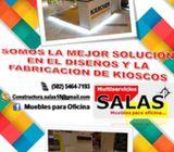 Diseño y Fabricación de Kioscos y Estands