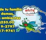 WHITE FUMIGACION
