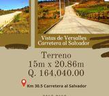 Terrenos en Carretera al Salvador en un ambiente fresco