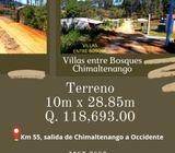Terrenos en Chimaltenango en un ambiente fresco