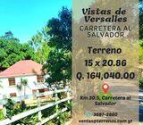 Terreno en Carretera al Salvador